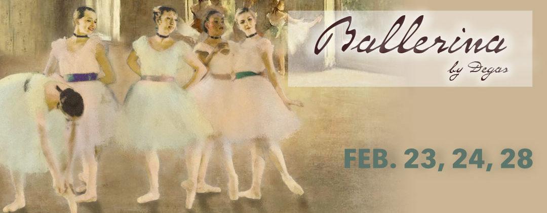 Ballerinas by Degas
